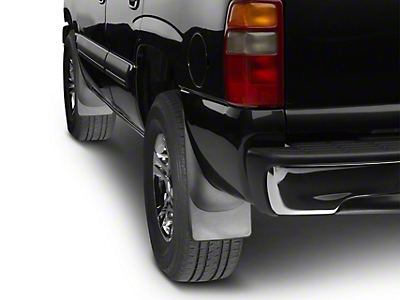 Weathertech No Drill Front MudFlaps - Black (06-08 RAM 1500 w/o Fender Flares)
