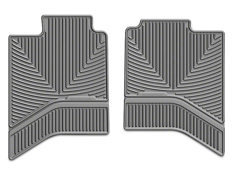 Weathertech All Weather Rear Floor Mats - Tan (02-18 RAM 1500 Quad Cab, Crew Cab)