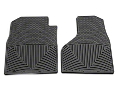 Weathertech All Weather Front Floor Mats - Black (2012 w/ Driver & Passenger Side Floor Hooks; 13-18 All)