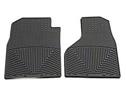 Weathertech All Weather Front Floor Mats - Black (2012 w/ Driver & Passenger Side Floor Hooks; 13-18 All)