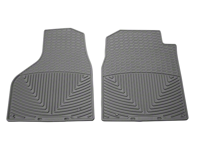 Weathertech All Weather Front Floor Mats - Gray (02-18 RAM 1500)