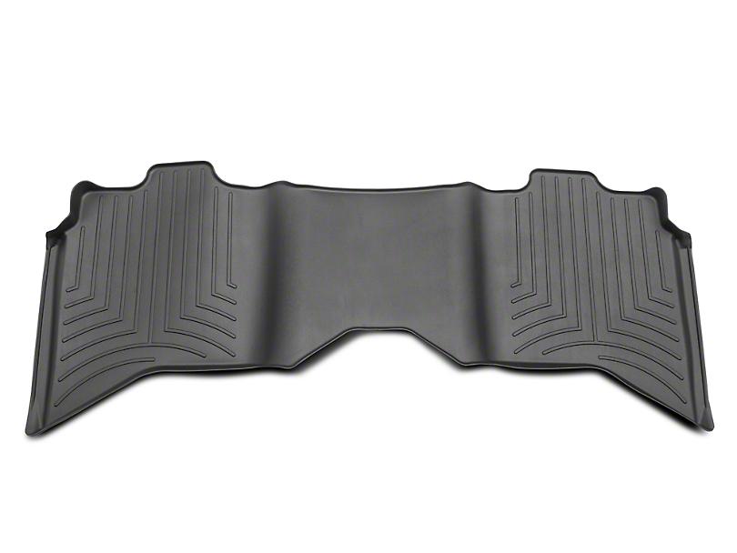 Weathertech DigitalFit Rear Floor Liner - Black (09-18 RAM 1500 Quad Cab, Crew Cab)