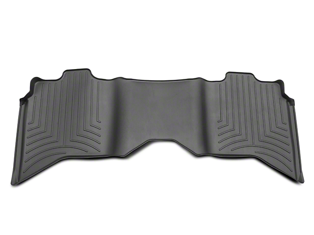 Weathertech DigitalFit Rear Floor Liner - Black (09-18 RAM 1500 Quad Cab, Crew Cab)
