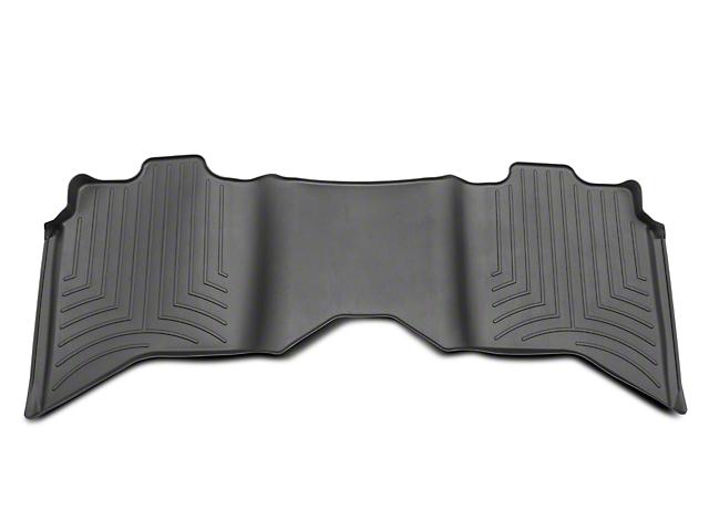 Weathertech DigitalFit Rear Floor Liner; Black (09-18 RAM 1500 Quad Cab, Crew Cab)