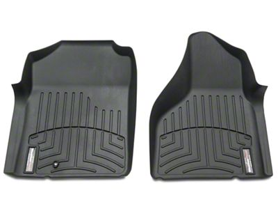 Weathertech DigitalFit Front Floor Mats - Black (02-08 4WD Automatic)