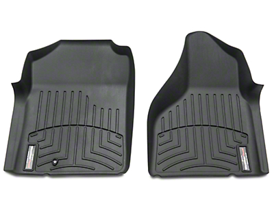 Weathertech DigitalFit Front Floor Liners - Black (02-08 RAM 1500 w/ Automatic Transmission)