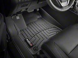 Weathertech DigitalFit Front and Rear Floor Liners; Black (02-08 RAM 1500 Quad Cab, Mega Cab w/ Automatic Transmission)