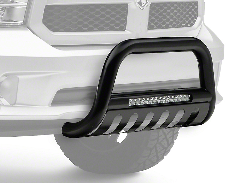 Steel Craft Bull Bar w/ 20 in. LED Light Bar (09-18 RAM 1500, Excluding Rebel)