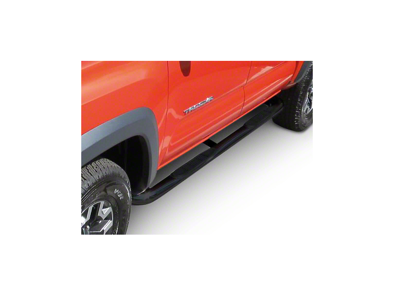 Steel Craft 3 in. Blackout Series Side Step Bars (02-08 RAM 1500 Quad Cab)
