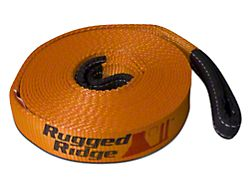 Rugged Ridge 3 in. x 30 ft. Recovery Strap - 30,000 lbs.