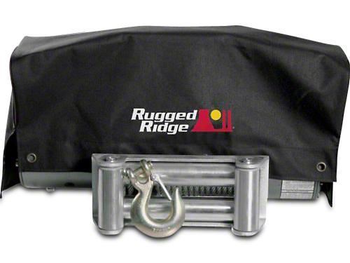 Rugged Ridge 8,500 lb. or 10,500 lb. Winch Cover
