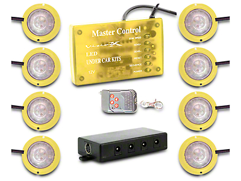 Vision X Tantrum LED Rock Light - Amber
