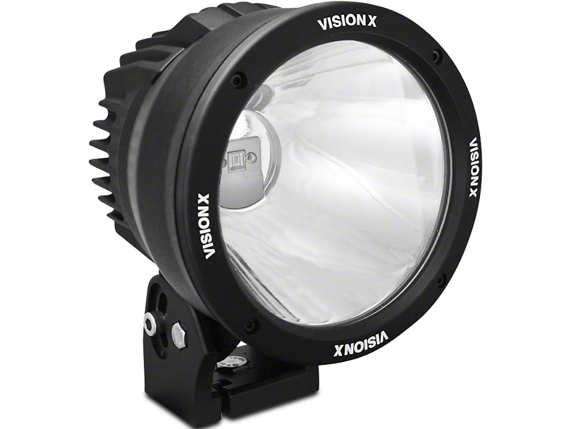 Vision X 6.7 in. LED Cannon - 2,500 ft. Range - Spot Beam - Single