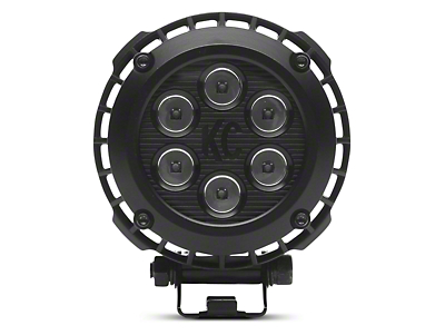 KC HiLiTES 4 in. LZR Round LED Light - Driving Beam
