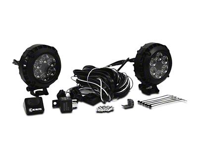 KC HiLiTES 4 in. LZR Round LED Lights - Spot Beam - Pair