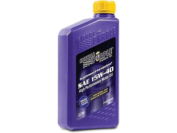 Royal Purple 15w40 Motor Oil