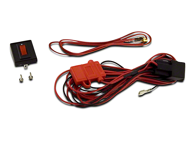 Rugged Ridge Wiring Harness for Three HID Off-Road Fog Lights (02-19 RAM 1500)