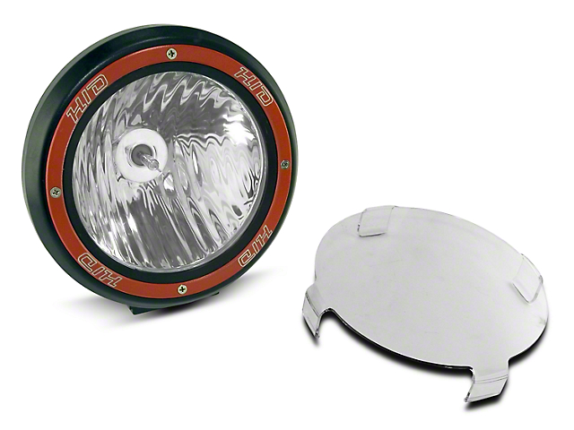 Rugged Ridge 7 in. Round HID Off-Road Fog Light - Single