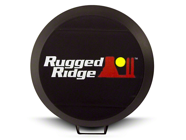 Rugged Ridge 6 in. HID Off-Road Light Cover - Black