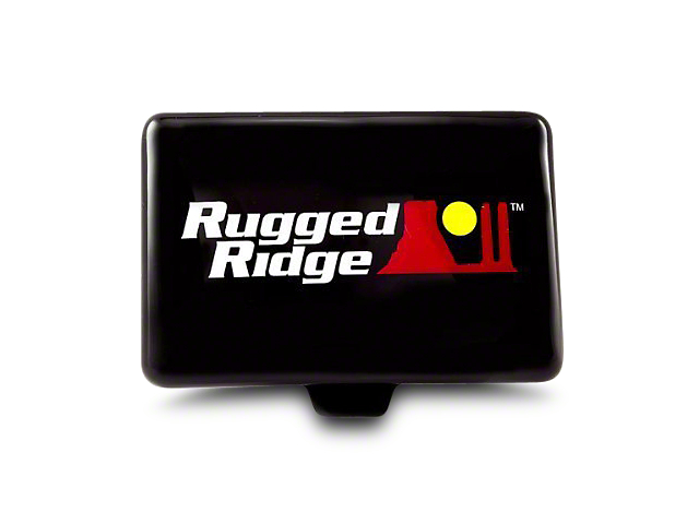 Rugged Ridge 5x7 in. Off-Road Light Cover - Black