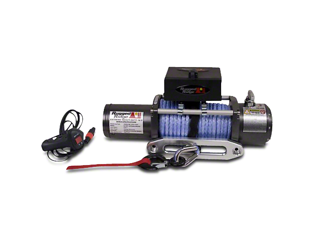 Rugged Ridge Performance 10,500 lb. Winch w/ Synthetic Rope