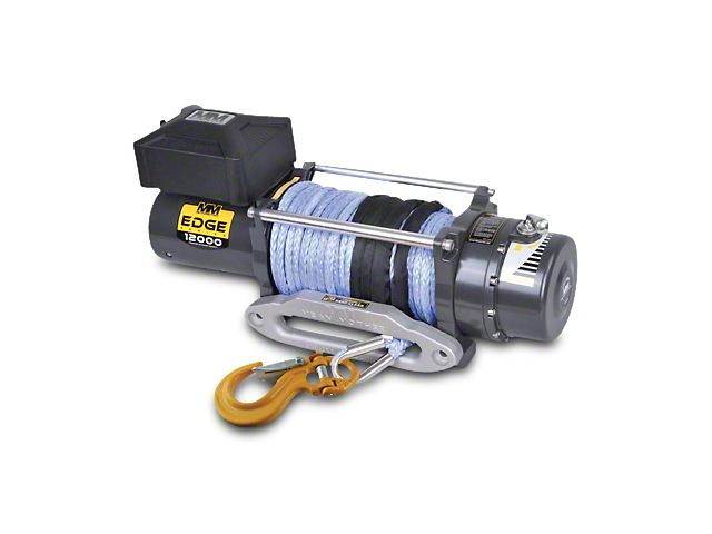 Mean Mother EDGE Series 12,000 lb. Winch w/ Synthetic Rope