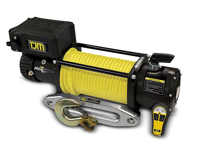 TJM 12,000 lb. Torq Winch w/ Synthetic Rope