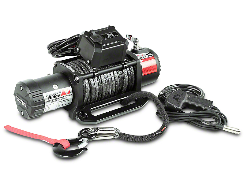 Rugged Ridge Nautic 12,500 lb. Winch w/ Synthetic Rope