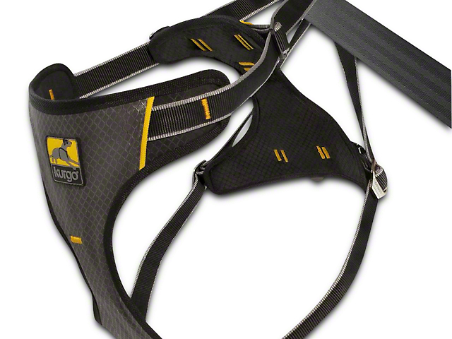 Kurgo Impact Dog Seat Belt Harness - Black