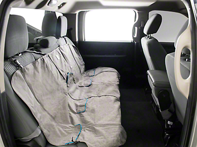 Kurgo Extended Width Wander Rear Bench Seat Cover - 63 in. Wide - Charcoal (02-19 RAM 1500 Quad Cab, Crew Cab, Mega Cab)