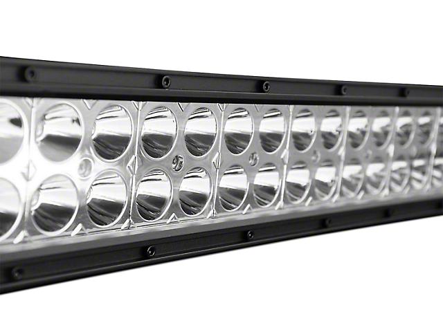DV8 Offroad 30-Inch Chrome Series LED Light Bar; Flood/Spot Combo Beam
