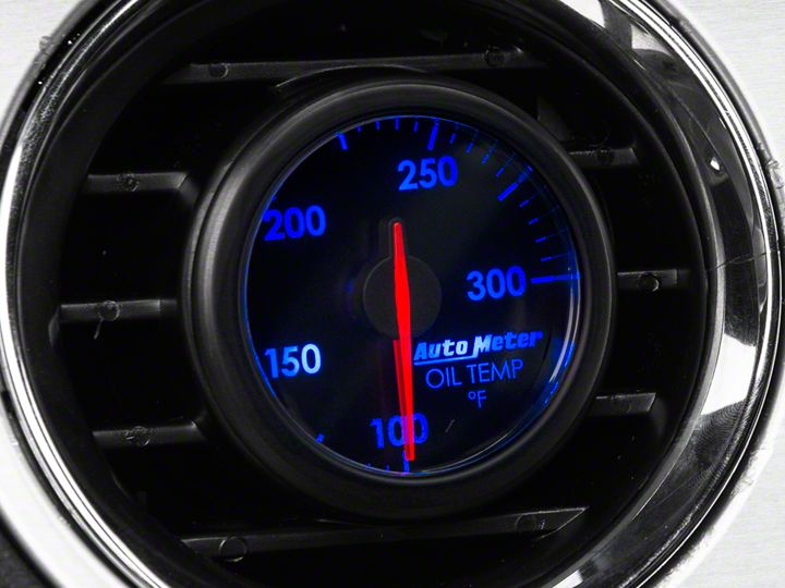 How to Install Auto Meter AirDrive Oil Temperature Gauge