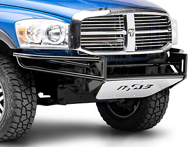 N-Fab R.S.P. Pre-Runner Front Bumper for Dual 38 in. Rigid LED Lights - Gloss Black (02-08 RAM 1500)