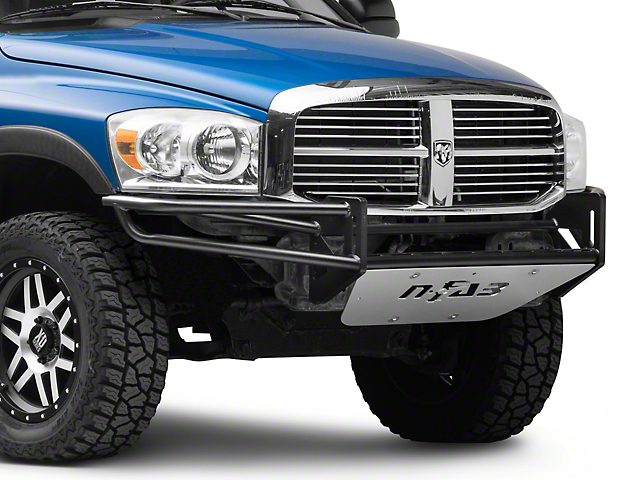 N-Fab R.S.P. Pre-Runner Front Bumper for Dual 38 in. Rigid LED Lights - Textured Black (02-08 RAM 1500)