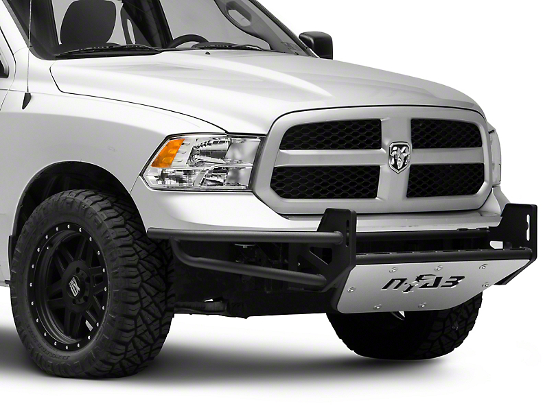 N-Fab R.S.P. Pre-Runner Front Bumper for Dual 38-Inch Rigid LED Lights; Gloss Black (09-18 RAM 1500, Excluding Rebel)