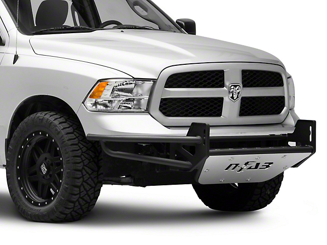 N-Fab R.S.P. Pre-Runner Front Bumper for Dual 38 in. Rigid LED Lights - Gloss Black (09-18 RAM 1500, Excluding Rebel)