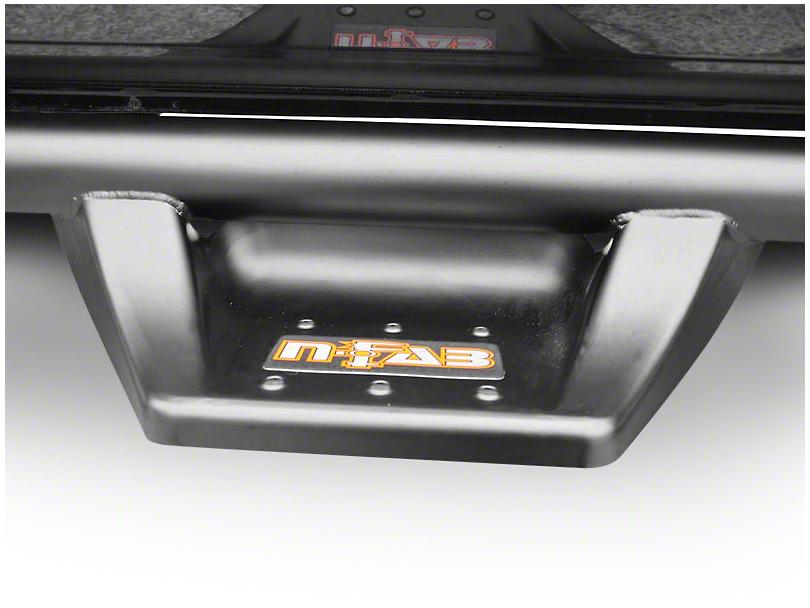 N-Fab Wheel 2 Wheel N-Durastep Side Step Bars - Semi-Gloss Black (02-08 RAM 1500 Quad Cab)