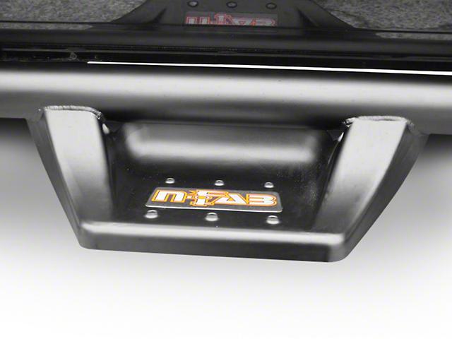 N-Fab Wheel 2 Wheel N-Durastep Side Step Bars; Semi-Gloss Black (02-08 RAM 1500 Quad Cab)