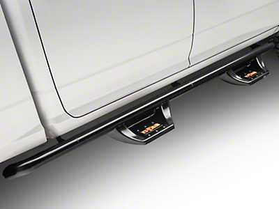 N-Fab Wheel 2 Wheel N-Durastep Side Step Bars - Semi-Gloss Black (09-18 RAM 1500 Quad Cab, Crew Cab)