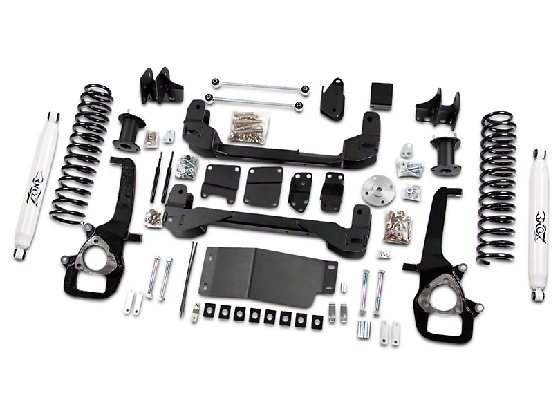 Zone Offroad 4 in. Suspension Lift Kit w/ Shocks (09-12 4WD RAM 1500)