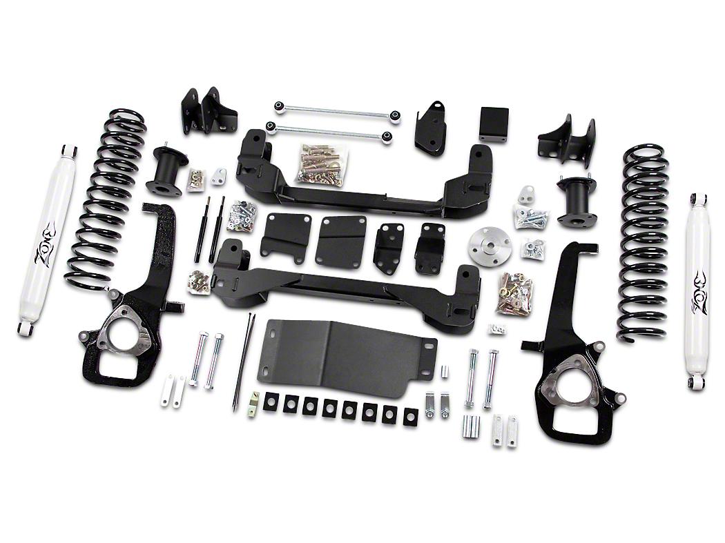 Zone Offroad 4 in. Suspension Lift Kit w/ Shocks (09-12 4WD RAM 1500)