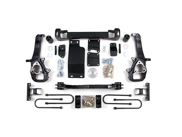 Zone Offroad 5 in. Suspension Lift Kit (02-05 4WD RAM 1500)