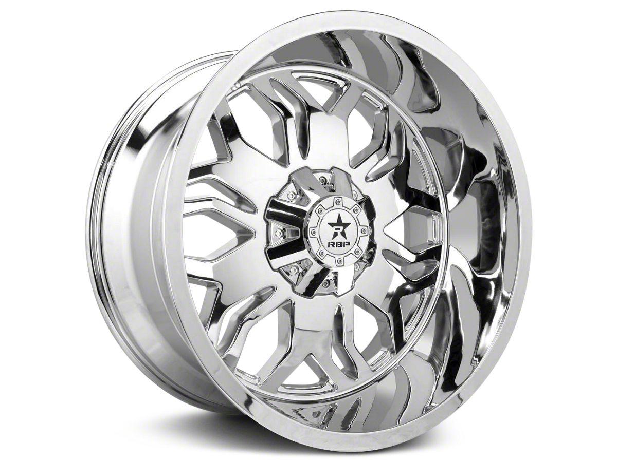 Ram 1500 Lug Pattern >> Rbp 87r Blade Chrome 5 Lug Wheel 24x12 02 18 Ram 1500 Excluding Mega Cab