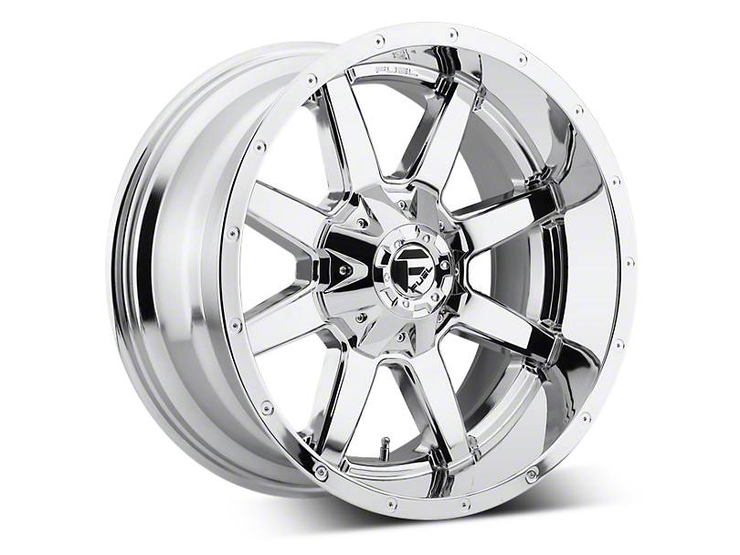 Fuel Wheels Maverick Chrome 5-Lug Wheel - 22x10 -24mm Offset (02-18 RAM 1500, Excluding Mega Cab)