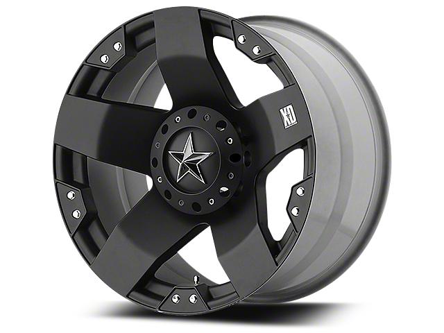 Rockstar XD775 Matte Black 5-Lug Wheel - 22x9.5 (02-18 RAM 1500, Excluding Mega Cab)