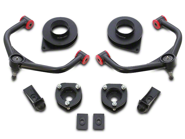 ReadyLIFT 2.5 in. Front / 1.5 in. Rear SST Lift Kit w/ Upper Control Arms (09-18 4WD RAM 1500 w/o Air Ride Suspension)