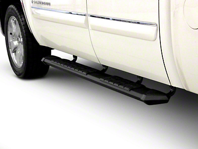 Iron Cross Patriot Board Side Step Bars - Black (02-08 RAM 1500 Quad Cab)
