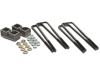 Daystar 2 in. Dana 60 Rear Lift Block Kit (06-08 4WD RAM 1500 Mega Cab)