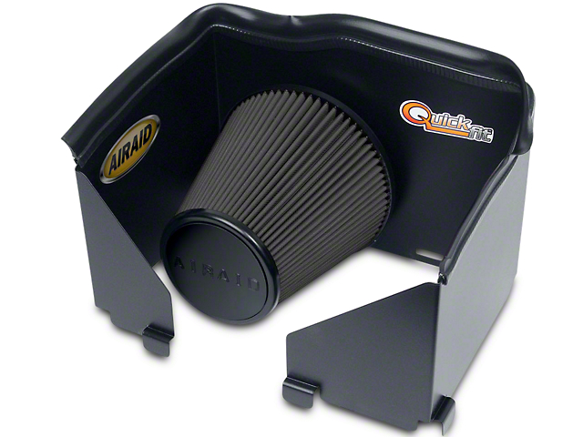 Airaid QuickFit Air Dam w/ Black SynthaMax Dry Filter (02-05 5.7L RAM 1500)