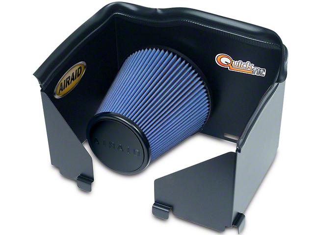 Airaid QuickFit Air Dam w/ Blue SynthaMax Dry Filter (02-05 3.7L RAM 1500)